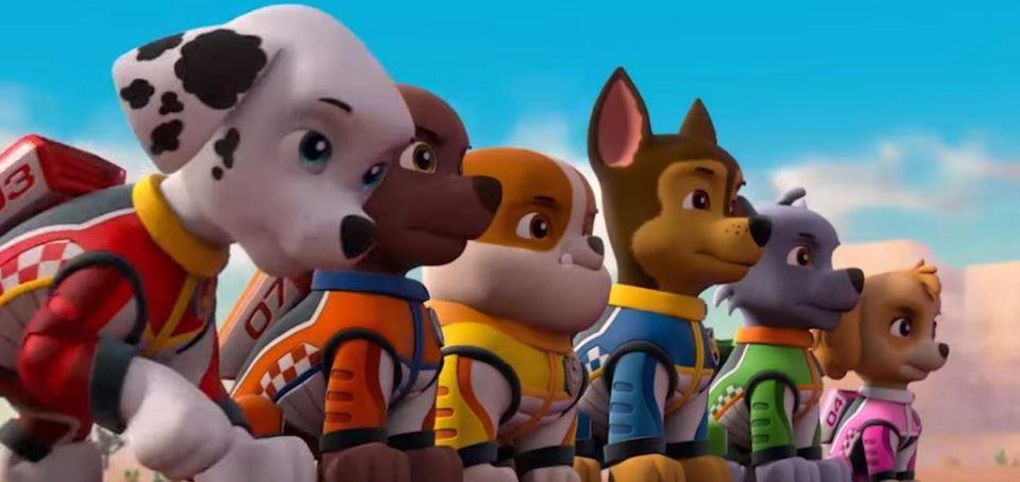 Now Showing: Paw Patrol: Ready Race Rescue